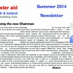 Disaster Aid UK & Ireland Newsletter July 2014