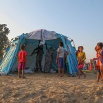 Deployment of 100 tents in Jamunaphanta,  Bardiya district