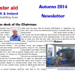 Newsletter Autumn 2014