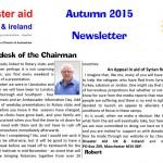 Newsletter Autumn 2015