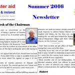 Newsletter Summer 2016