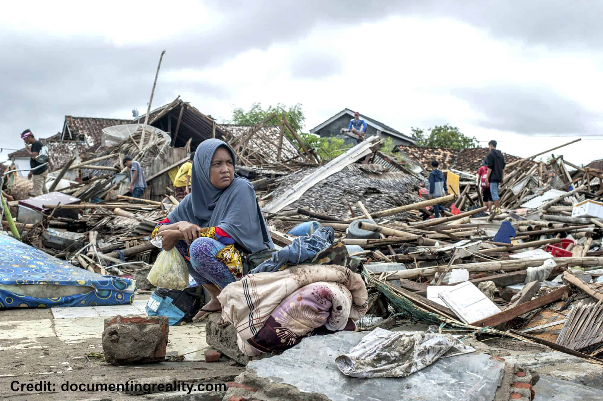 Indonesian Tsunami Dec 2018